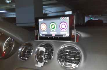 Nexus 7 on Peugeot 308 Part 1