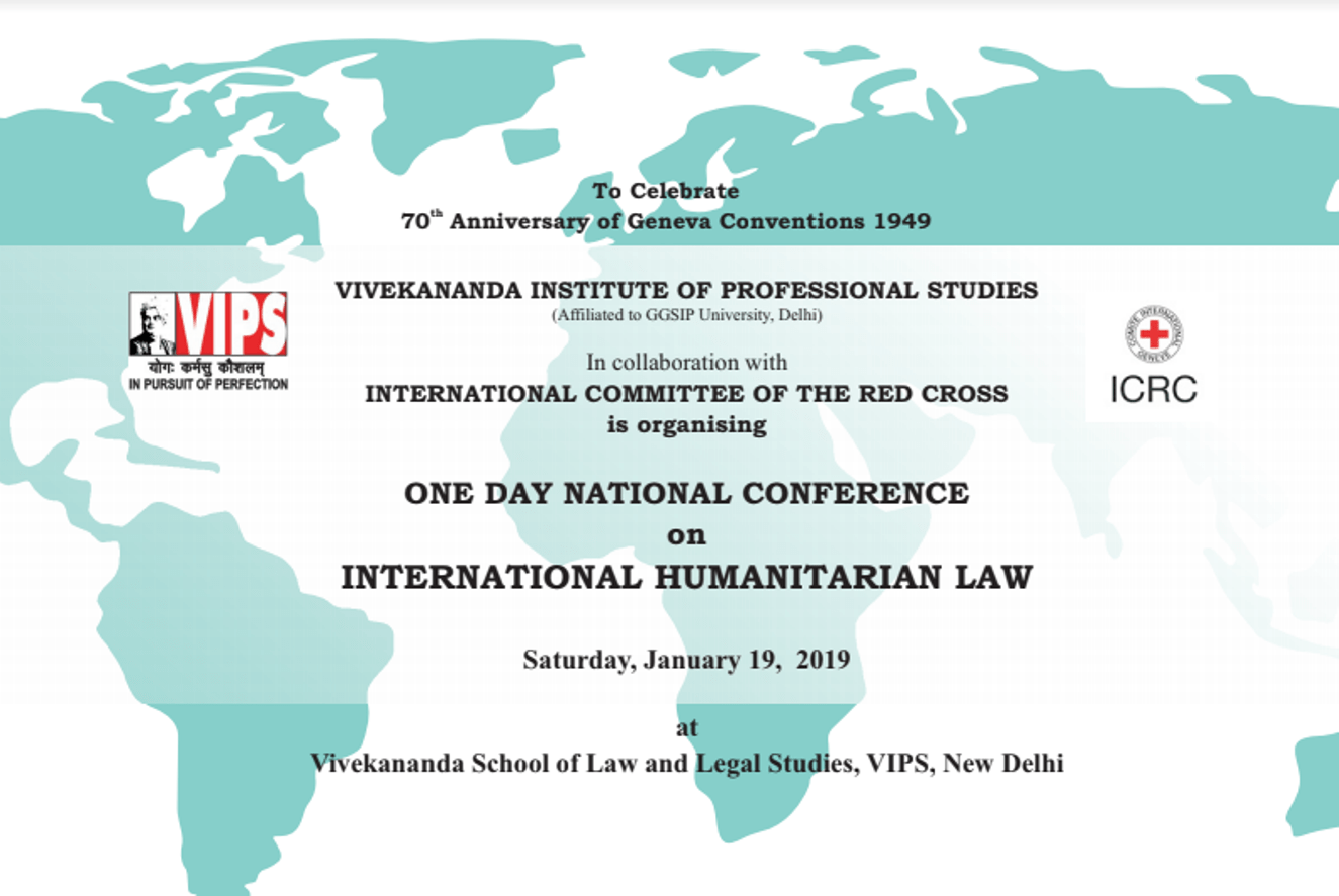Call for Papers: National Conference on International