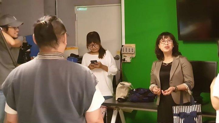 廣東話輕鬆學-課程宣傳-攝影棚側寫