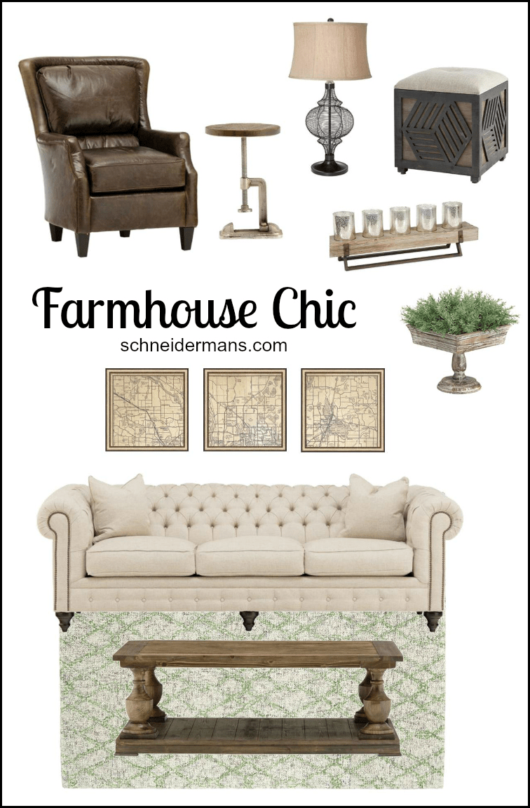 Farmhouse Chic - Get the Look