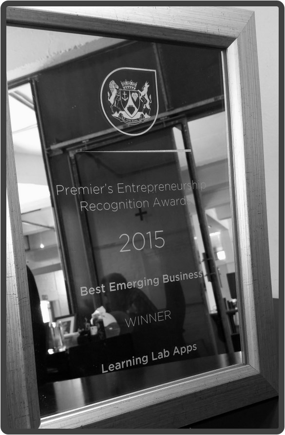 Learning Lab Apps - 'Best Emerging Business'