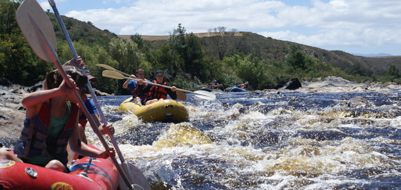 Xama Adventures for Schools - Camp Fish Eagle (Breede River Base Camp)