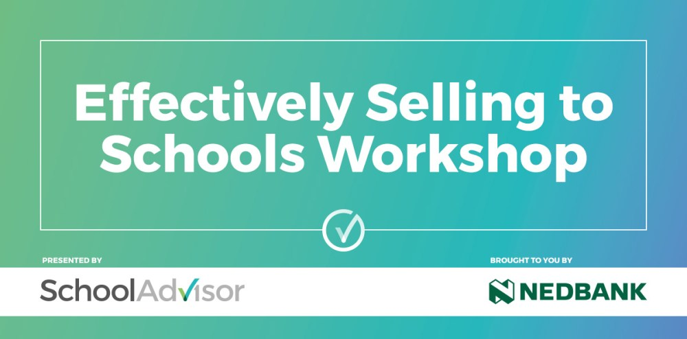 Effectively Selling to Schools Workshop 2018