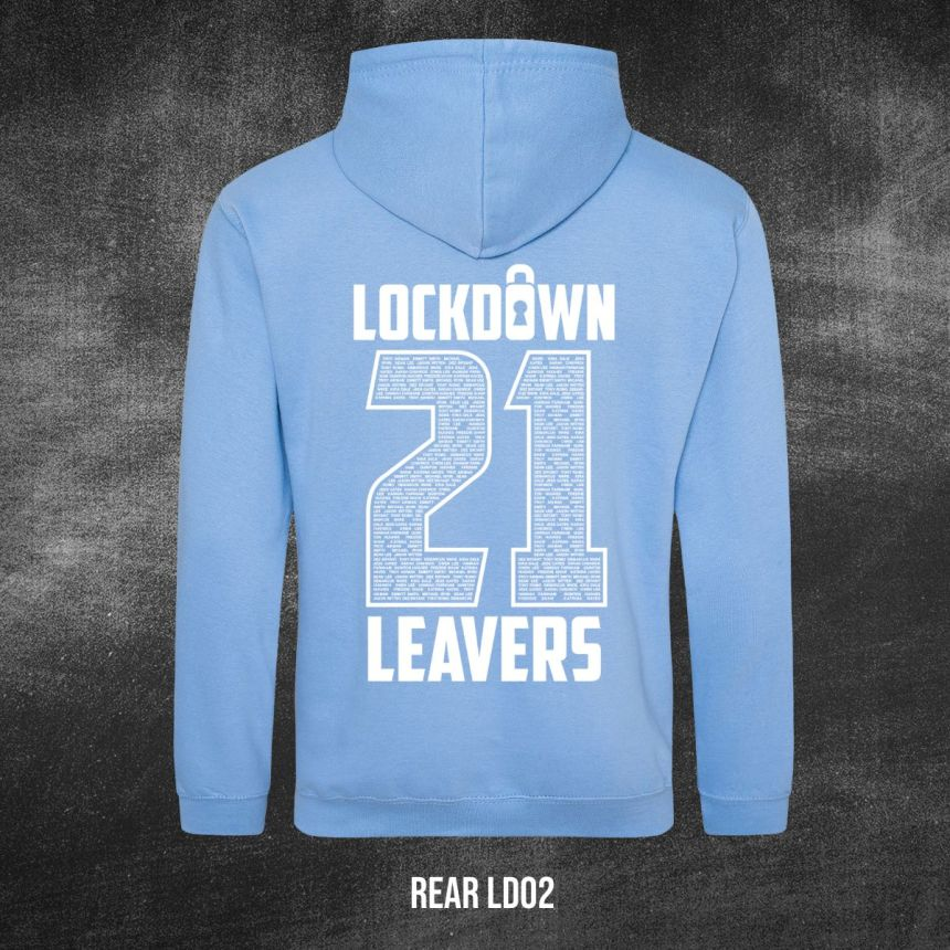 Lockdown Leavers Design REAR LD02