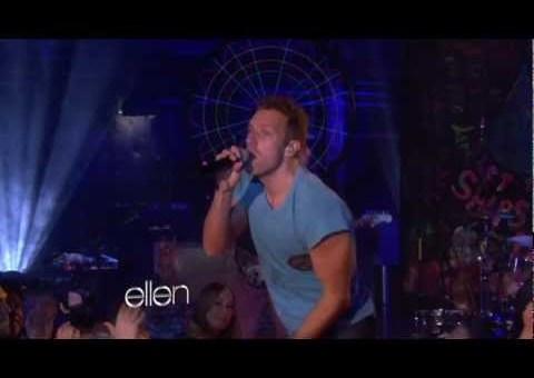 Coldplay live bei Ellen DeGeneres