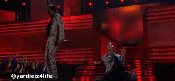 Miguel (feat. Wiz Khalifa) – Adorn (Live @ Grammys 2013)