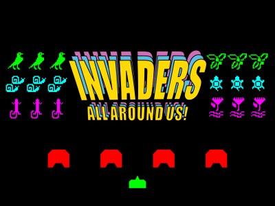 Invaders All Around Us!
