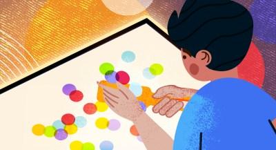 Teaching STEM through arts: Light Play