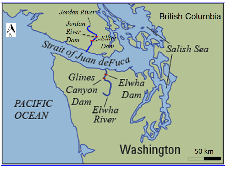 A Tale Of Two Rivers ScienceBorealisca Blog - World map jordan river
