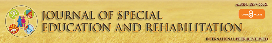 Journal of Special Education and Rehabilitation