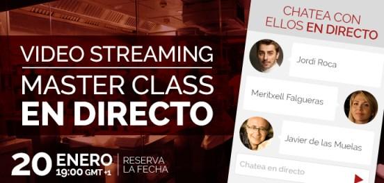 Primera Master Class de Creative Signatures con Jordi Roca, Javier de las Muelas y Meritxell Falgueras