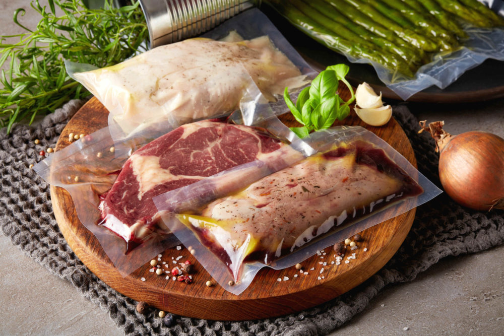 Las ventajas de cocinar carnes al vacío