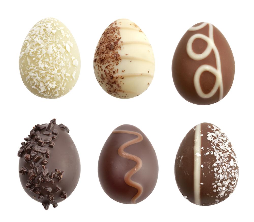 Como decorar huevos de chocolate y otras figuras o postres