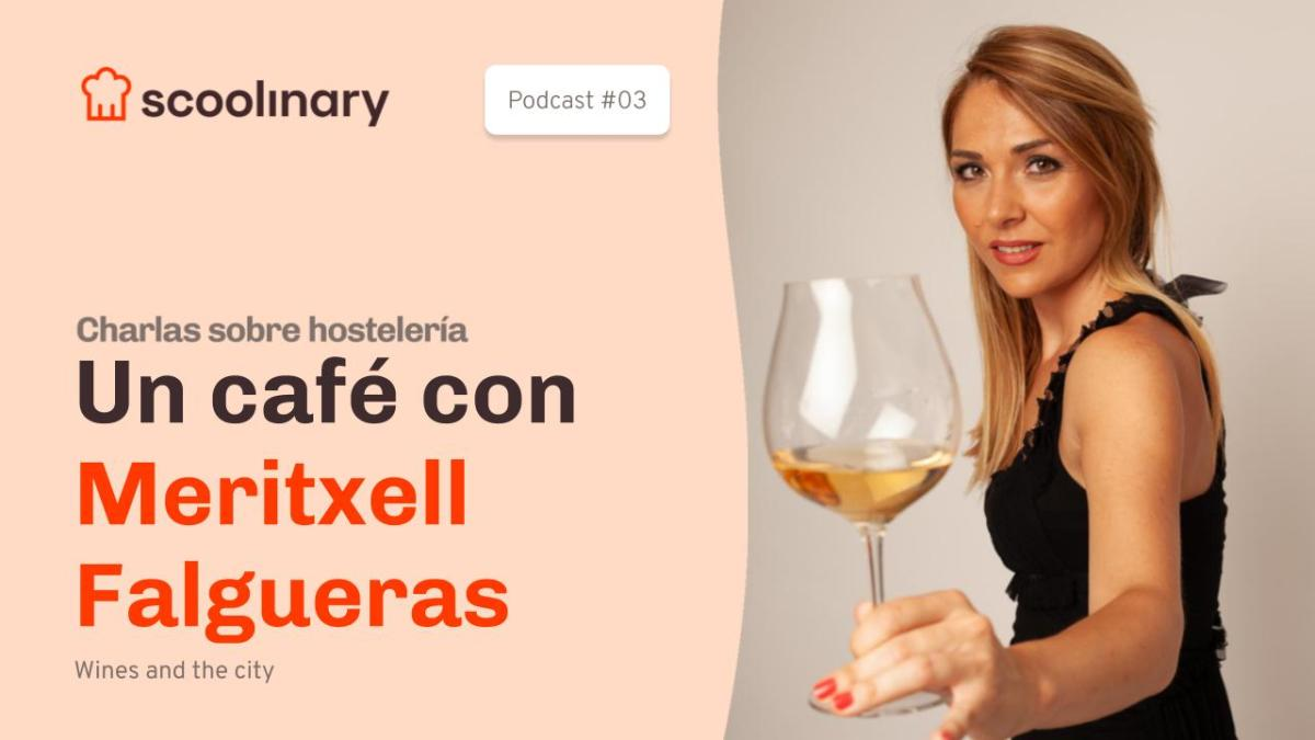 Un café con Meritxell Falgueras, sumiller y comunicadora que lleva el vino en su ADN