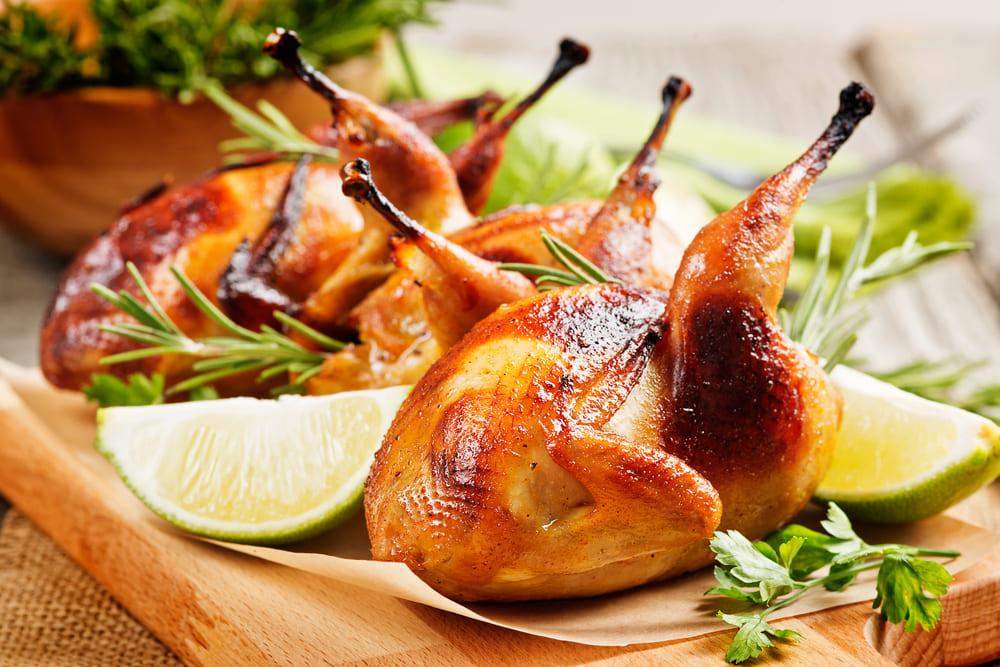 Ave que no vuela… Tipos de aves comestibles