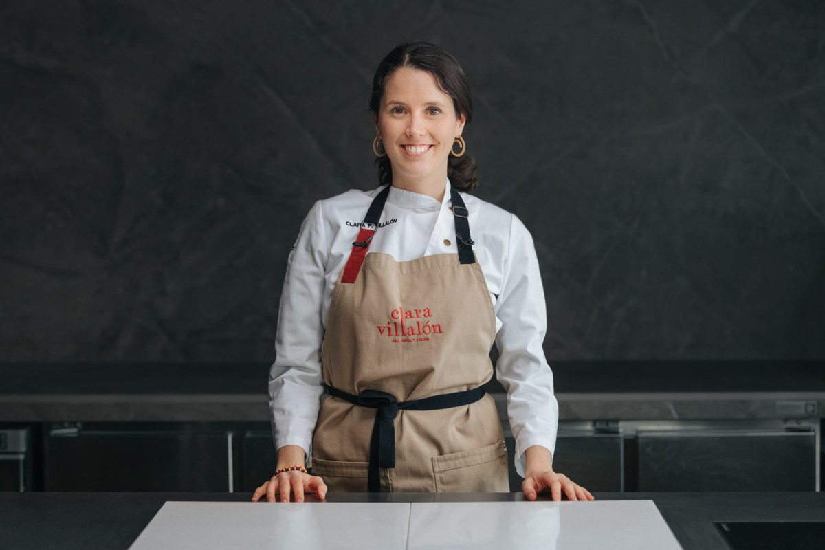 Conoce a Clara Villalón, una cocinera de casa y «disfrutóloga» profesional