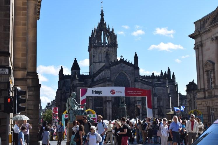 The Edinburgh Festival Fringe - on the Royal Mile