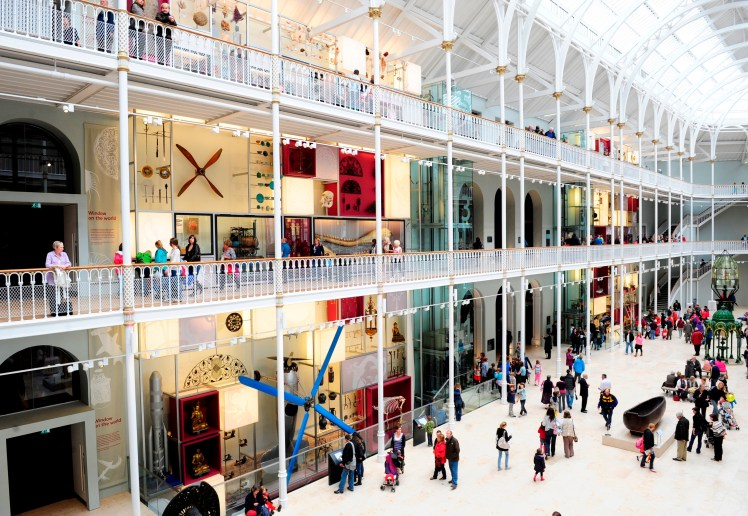 Grand Gallery at the National Museum of Scotland. Copyright National Museums Scotland (2) - Copy
