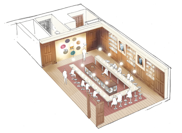 bright 3d Blenders' Sample Room