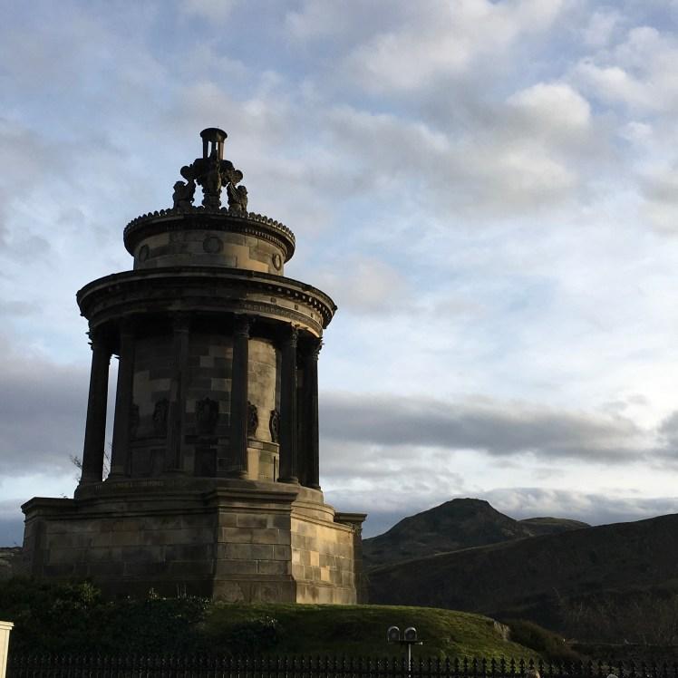 The Burns Monument, Regent Terrace, Edinburgh