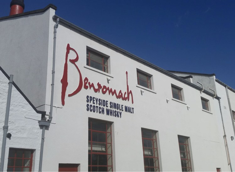 Benromach Distillery (credit: Scotch Whisky Experience team)