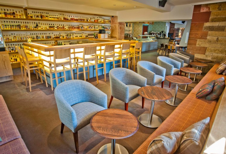 Amber Whisky Bar (The Scotch Whisky Experience, Edinburgh)
