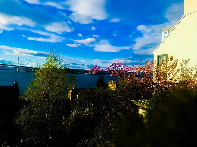 A view of the Forth Bridges (credit and copyright: Andrew Palmer)
