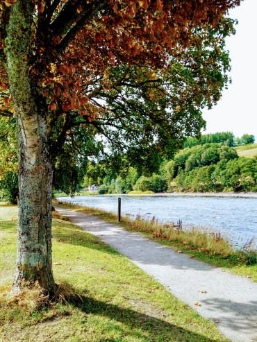 The River Spey (credit and copyright: Aberlour Distillery for the Scotch Whisky Experience)