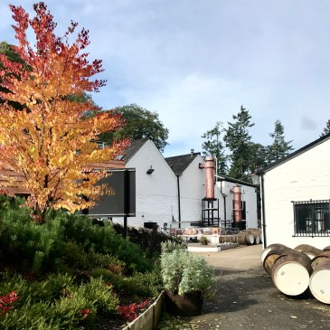Glenturret distillery exterior (credit and copyright: Glenturret distillery)