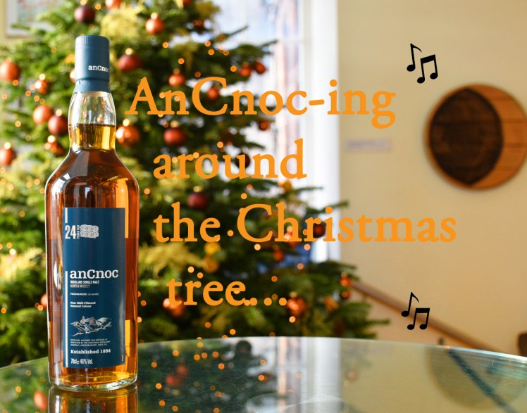 AnCnoc-ing around the Christmas tree - festive whisky puns, the Scotch Whisky Experience