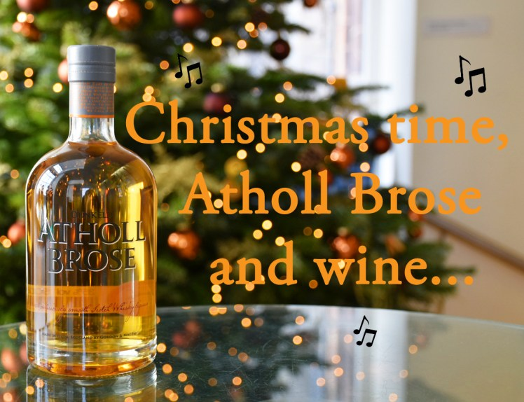 Christmas time, Atholl Brose and wine - festive puns from the Scotch Whisky Experience
