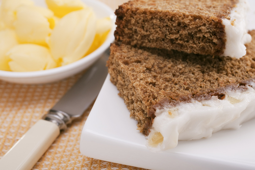 Ginger cake made using Scotch Whisky