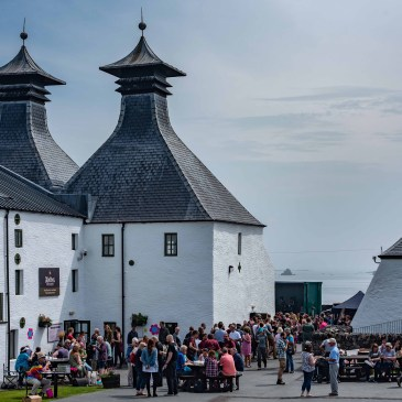 Ardbeg Distillery: credit and copyright Ben Shakespeare Photography