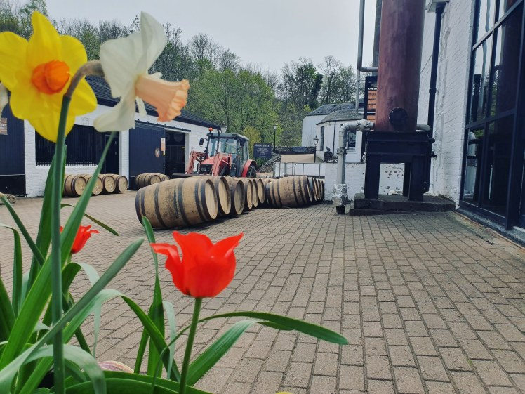 Glengoyne Distillery courtyard (credit and copyright: Glengoyne distillery)