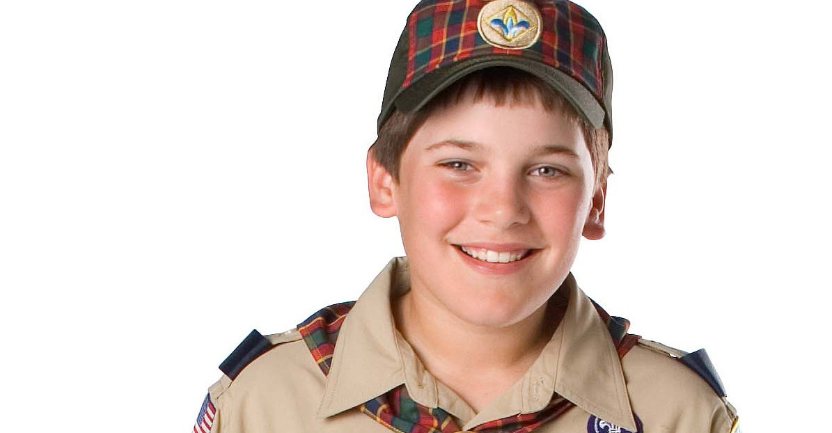 adult uniform scout inspection Cub