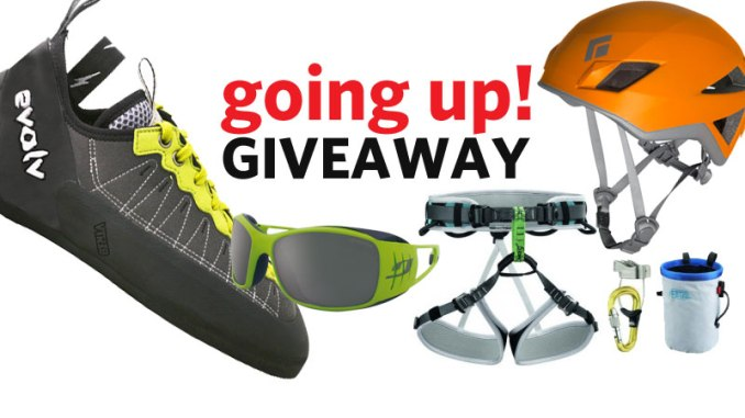 Going Up! Giveaway Blog