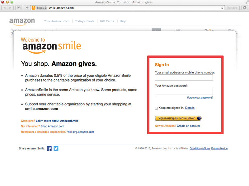 amazon-smile-step-2