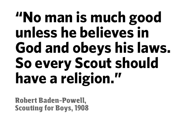 photograph about Boy Scout Oath in Sign Language Printable named Over the believe in within God prerequisite inside of Scouting
