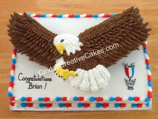 Scout Birthday Cake