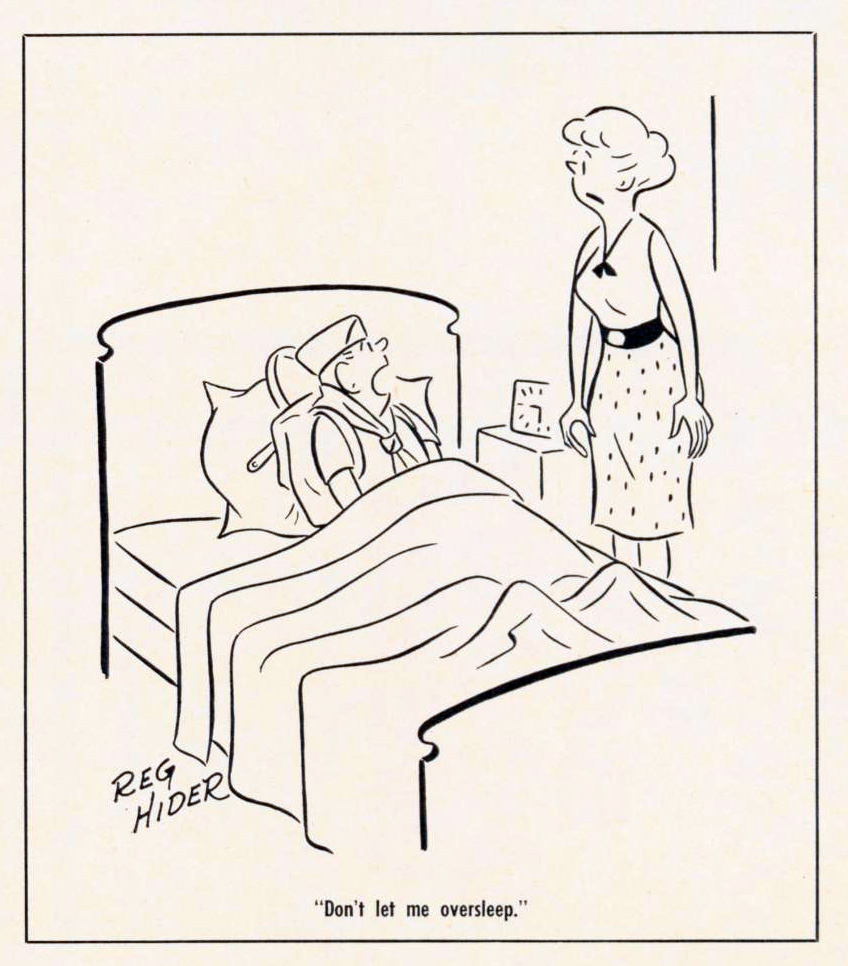 Cartoon-1968-Oversleep