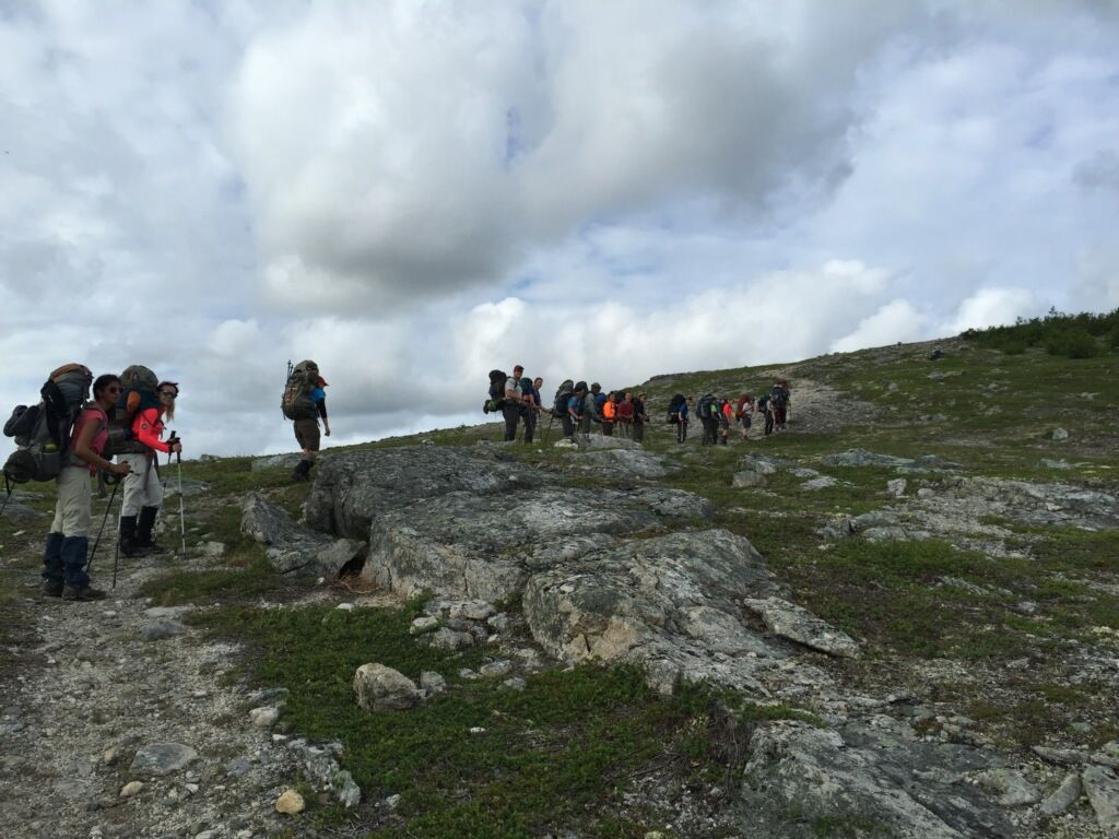 Day 9 Near end of Kesugi Ridge Trail_s