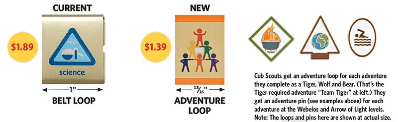 How Cub Scouts earn adventure loops pins in new program – Cub Scout Belt Loops Worksheets
