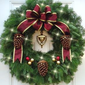 Mickman-wreath
