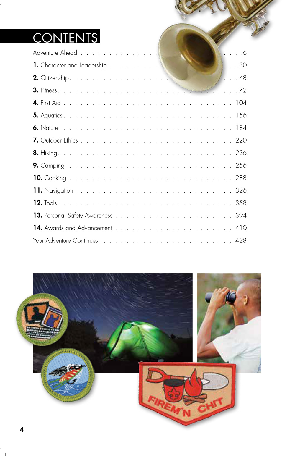 13th-edition-Boy-Scout-Handbook-contents-1