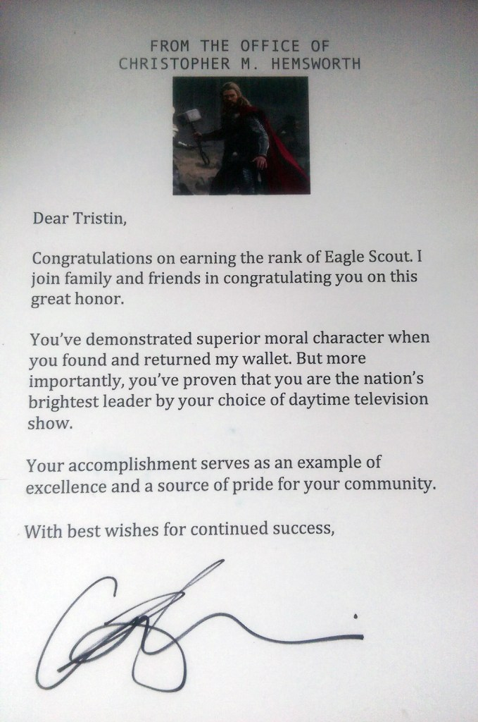 Hemsworth-letter-to-Eagle-Scout