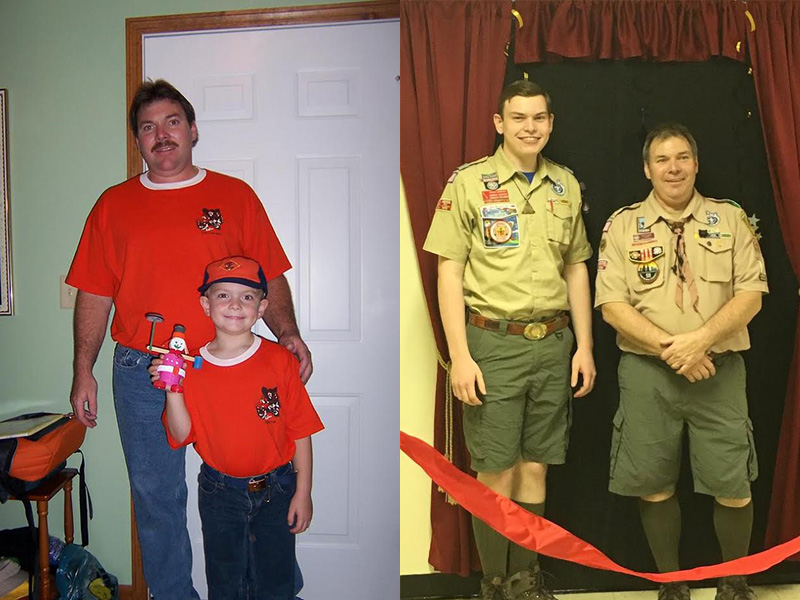 Cameron and Dad from Ohio