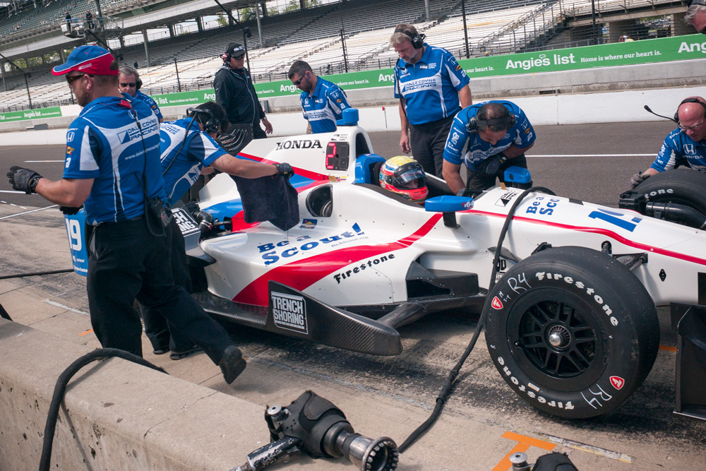 Scouting car in the 2016 Indy 500 - 5
