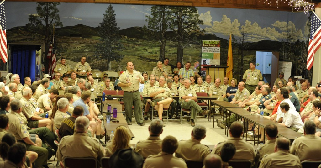 Tico-Perez-speaking-at-Philmont-Training-Center