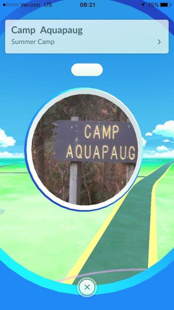Aquapaug PokeStop