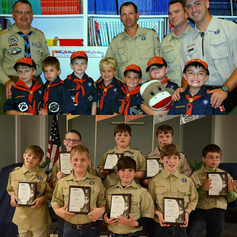 Scouts of Pack 204, Coastal Georgia Council